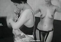 Two girls forced biggest tits in the world to Lick.